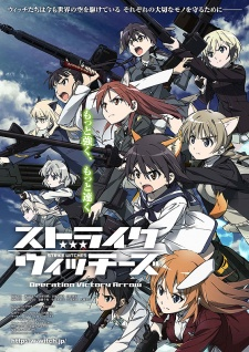 Xem Phim Strike Witches Operation Victory Arrow - Tiếng Sấm của Saint Trond  VietSub