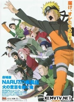 Xem Phim Naruto Shippuuden Movie 3-Người kế thừa ngọn lửa ý chí - Naruto Shippuuden Movie 3: Inheritors of the Will of Fire VietSub