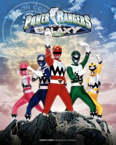 Power Ranger Lost Galaxy